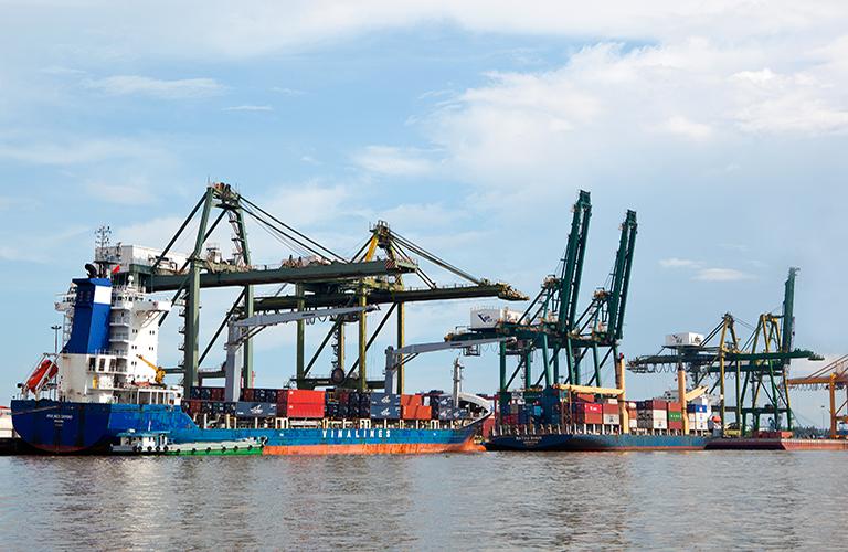 Đón nhận container thứ 1 triệu thông qua Cảng.