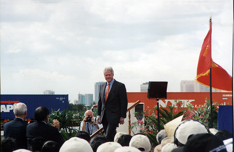 Chuyến viếng thăm của Tổng thống Mỹ - Bill Clinton